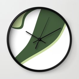 Abstract Color Wall Clock