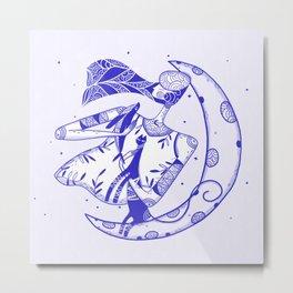 Emiluna Metal Print