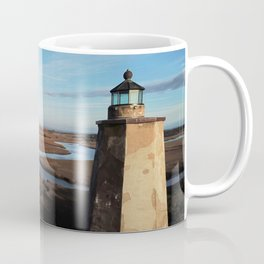Old Baldy Lighthouse on Bald Head Island North Carolina Coffee Mug