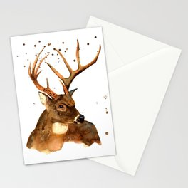 Beautiful Blitzen Stationery Cards