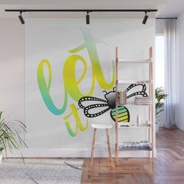 Let it Bee Wall Mural