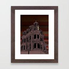 Haunted House #3 Framed Art Print