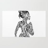 maori Area & Throw Rugs featuring Maori Style by SarinneG