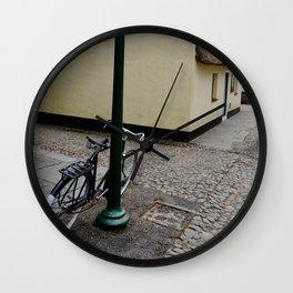 Bike in a Irish Town Wall Clock