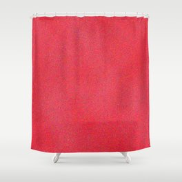 Deep Pink Sparkle Shower Curtain
