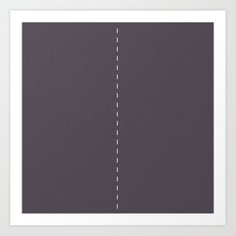 2 lanes, Time Rider Art Print