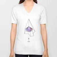 explore V-neck T-shirts featuring Explore by Austin Collins