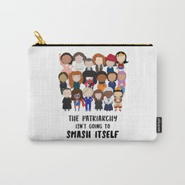 Smash the Patriarchy Carry-All Pouch