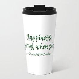 Into The Wild - Christopher McCandless Travel Mug