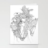 rogue Stationery Cards featuring Rogue by Tri Vo
