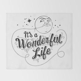 It's a Wonderful Life 2 Throw Blanket