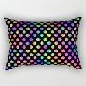 Rainbow Polka Dot Pattern by creativeangel