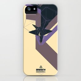 STEALTH:YF-23 Blackwidow II iPhone Case