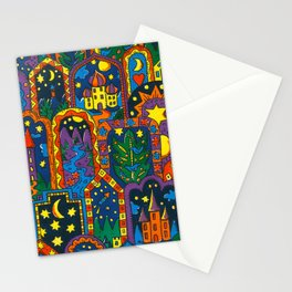 Night Dreams by Nettwork2Design Nettie Heron-Middleton Stationery Cards