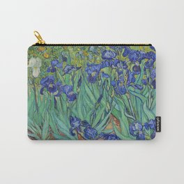 Irises by Vincent van Gogh Carry-All Pouch