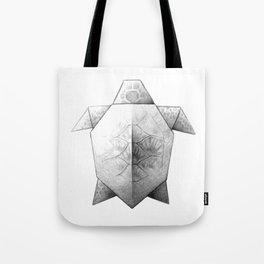 Turtle Origami Tote Bag