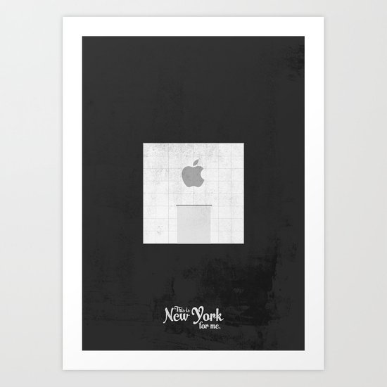 """This is New York for me. """"5th Ave Store"""" Art Print"""