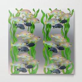 Aquarium 3 Metal Print