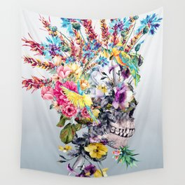 Punk Portrait Wall Tapestry