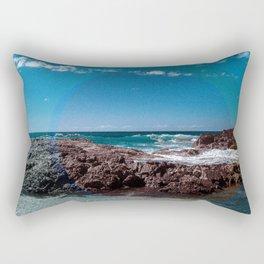 a Day at the Beach 1  Rectangular Pillow