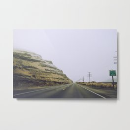 Welcome to Oregon Metal Print