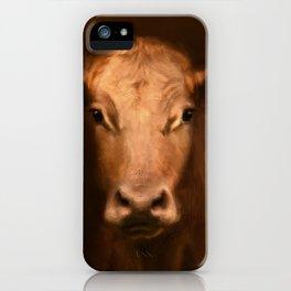 Cow 187 iPhone Case