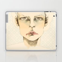 """portrait of anybody"" Laptop & iPad Skin"