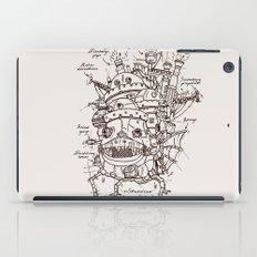 Howl's Moving Castle Plan iPad Case