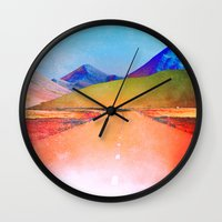 verse Wall Clocks featuring Verse by Daniel Montero