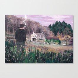 Village Boy Canvas Print