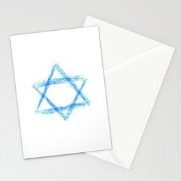 Star of David 21- Jerusalem -יְרוּשָׁלַיִם,israel,hebrew,judaism,jew,david,magen david Stationery Cards