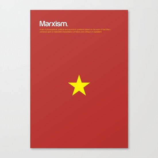 Marxism Canvas Print