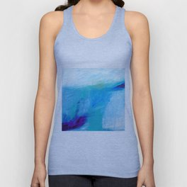 Blue Seacape Unisex Tank Top