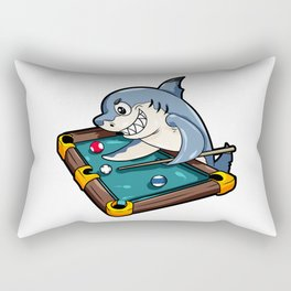 Billiard Pool Snooker Shark Queue Cue Stick Gift Rectangular Pillow