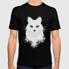 Arctic Fox Princess Black MEDIUM Mens Fitted Tee