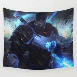 Pulsefire Shen League Of Legends Wall Tapestry
