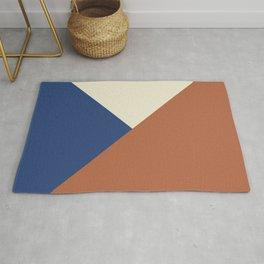 Origami geo tile // Multi-color Rug