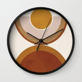 Modern Geometry Wall Clock