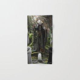 V. The Hierophant Tarot Card Illustration (Color) Hand & Bath Towel
