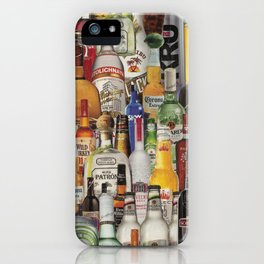 Beer Me Collage iPhone Case