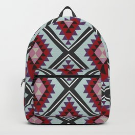 Colorful Diamonds and Triangles - Joie De Vivre Backpack
