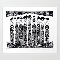 FOR INNER PEACE ACHIEVE ... FITNESS Art Print