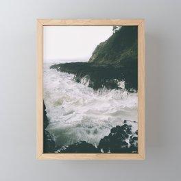 Milky. Framed Mini Art Print