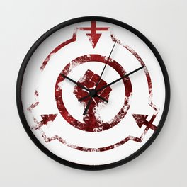 SCP Foundation: Mobile Task Force Symbol Wall Clock