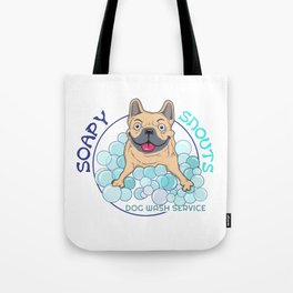 soapy snouts logo2 Tote Bag