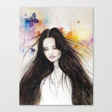 Ariane Watercolour  Canvas Print