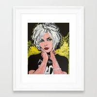 blondie Framed Art Prints featuring Blondie by Matt Pecson
