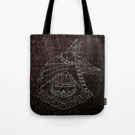Anubis Egyptian God Tote Bag