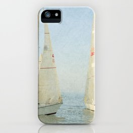 Right of Way iPhone Case