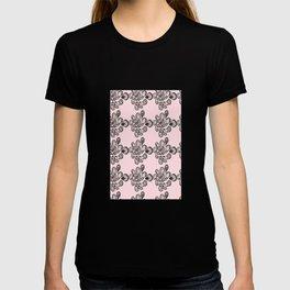 Soft pink ornament T-shirt